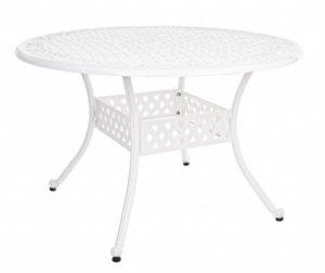 Vrtna miza Ivrea White