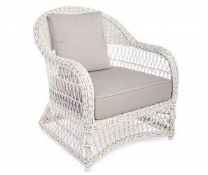 Vrtni fotelj Kosmos Antique White