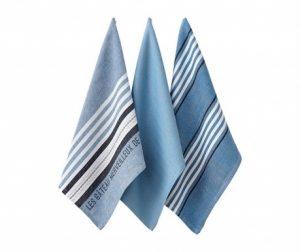 Set 3 kuhinjskih brisač Clement 45x70 cm