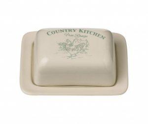 Posodica za maslo z pokrovom Country Kitchen