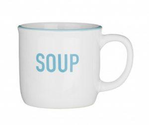 Skodelica za juho White 420 ml