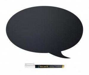 Set - pisalna tabla in flomaster s tekočo kredo Bubble Speech