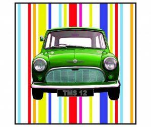 Slika Mini Green 70x70 cm