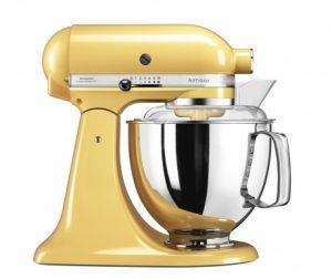 Samostoječi mešalnik KitchenAid Artisan Elegance Yellow