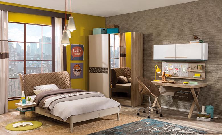 Sobe za mlade - Kako postaviti spalnico za najstnika