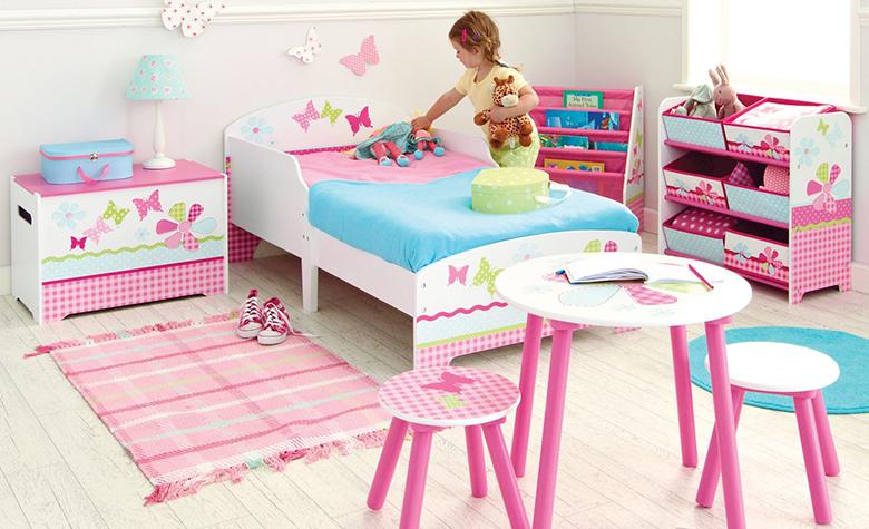 Kako izbrati dekoracije za otroško sobo