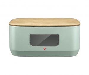 Škatla za kruh s pokrovom Modernis Mint