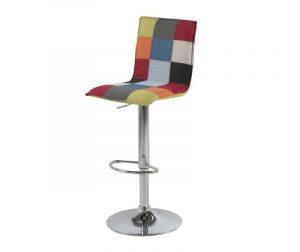 Barski stol Anela Patchwork