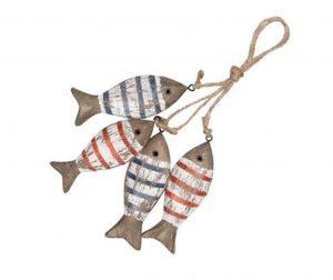Viseča dekoracija Striped Fishes