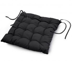 Sedežna blazina Essentiel Black 40x40 cm