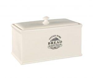 Škatla za kruh Vintage Home Cream