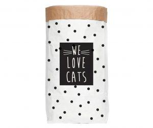 Shranjevalna torba Love Cats