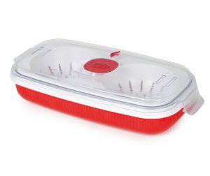 Škatla za kuhanje jajc Airtight Red 750 ml